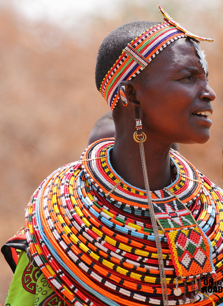 Intricate beaded necklaces are a symbol of the Kenyan nation.
